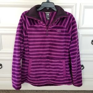 💖 The North Face 1/4 Zip Fuzzy Pullover Soft! M